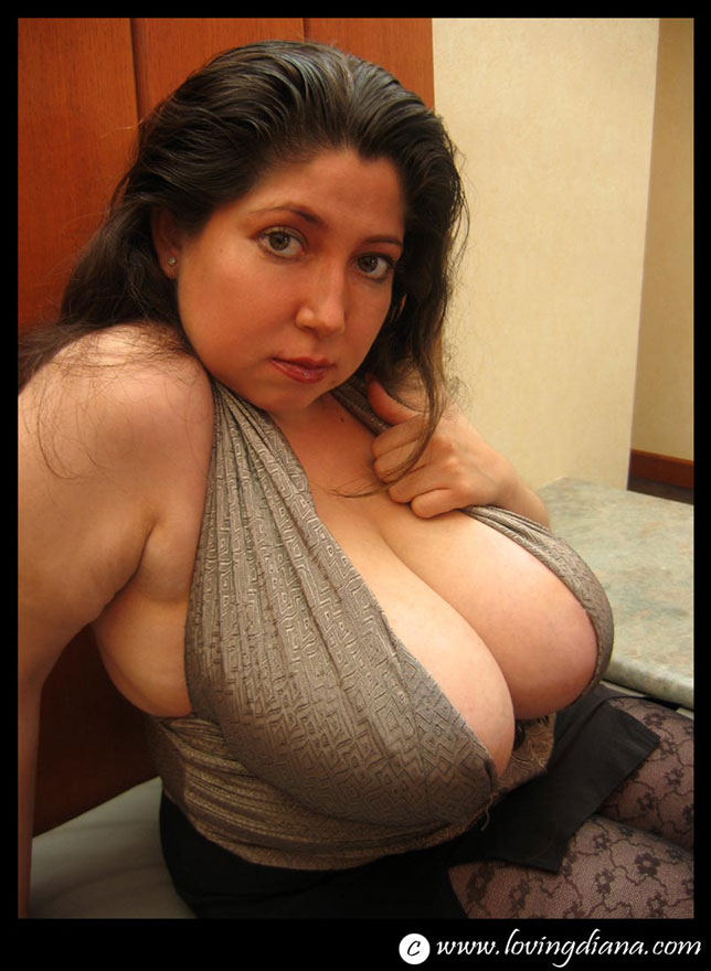 Loving diana huge latina boobs